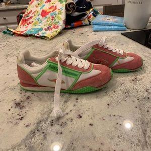 Vintage Kangaroos Sneakers W/ Zip sz 6.5 RARE